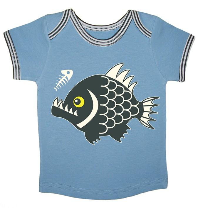 T-shirt Pranha baby