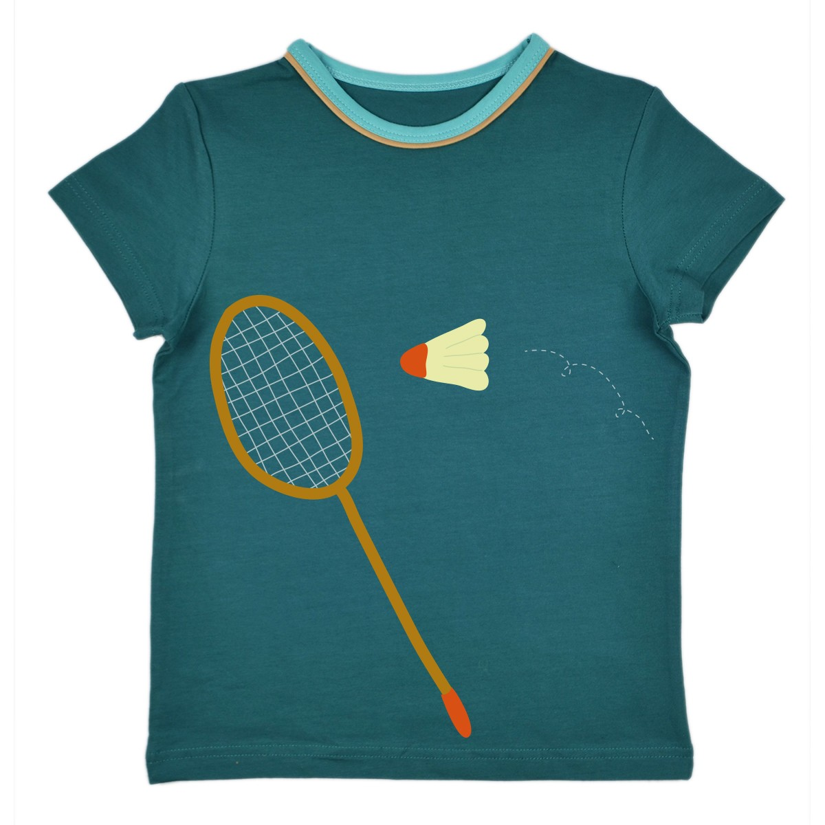 T-shirt badminton