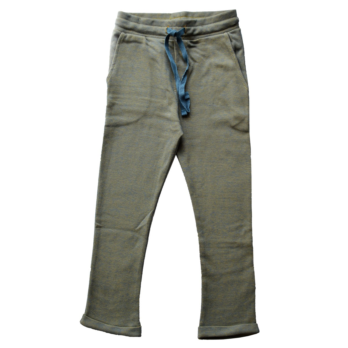 Chino pants blue pique