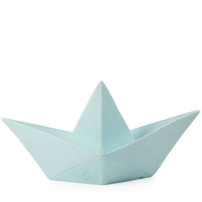 Paper Boat Lamp Mint Green