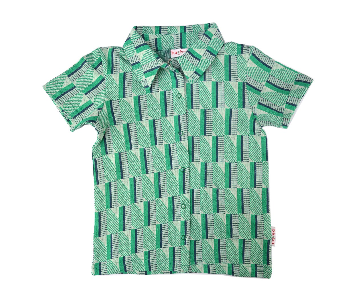 Shirt boys green