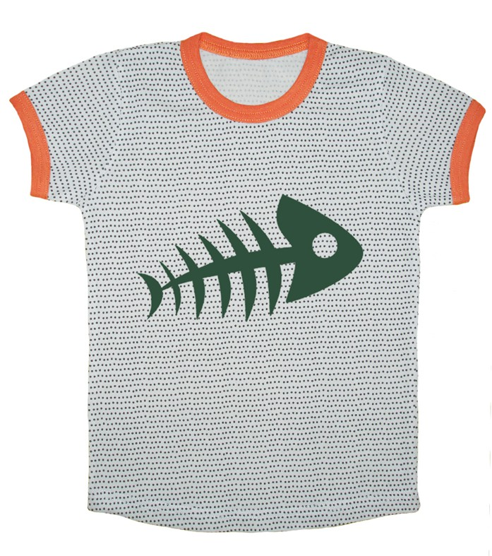 T-shirt Fishbone