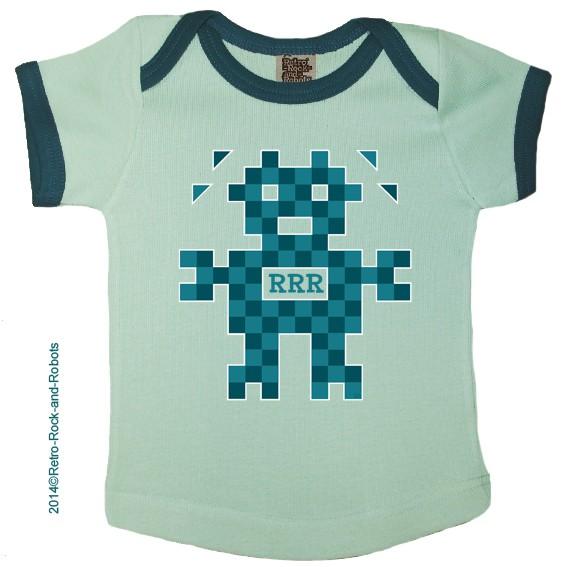 T shirt PIXELBOT baby