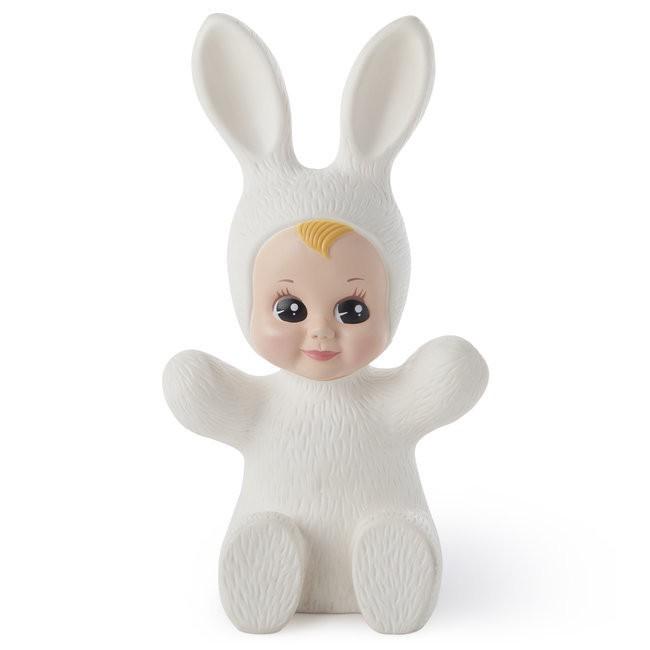 Bunny Baby Lamp White
