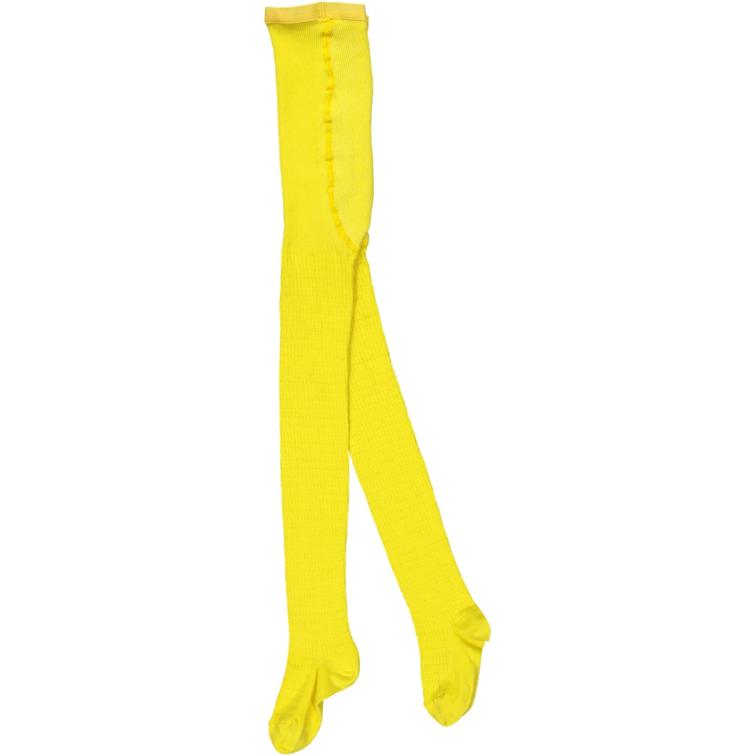Tights blazing yellow