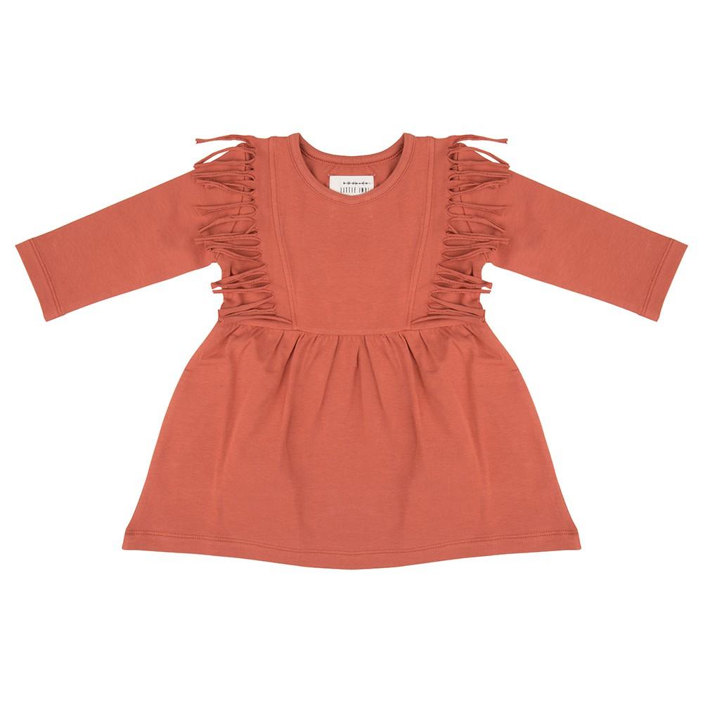 Boho jurk baked clay