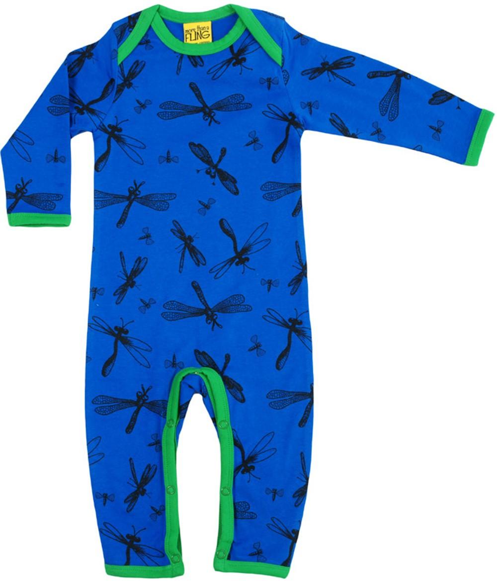 Dragonfly blauw jumpsuit