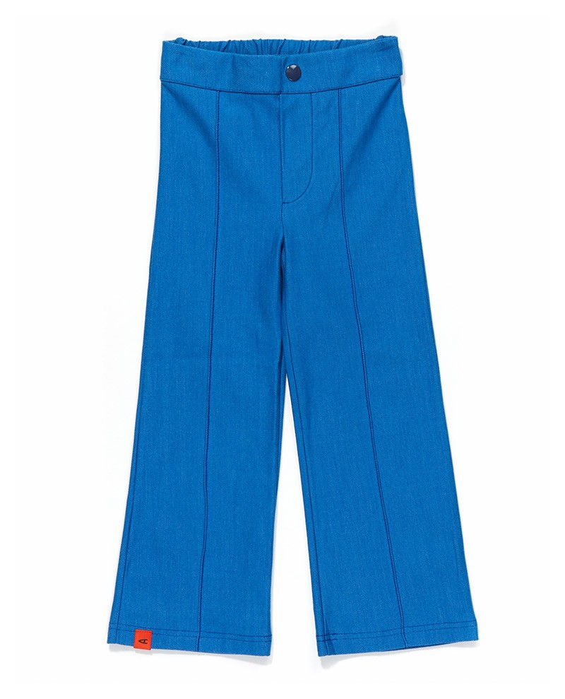 Egte box pants blauw