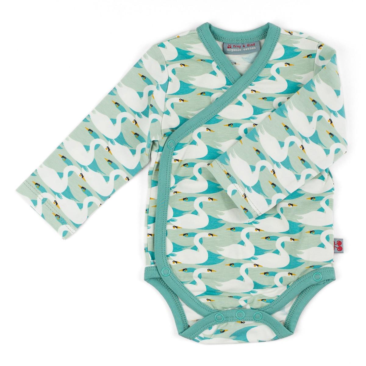 Kimono body zwaan