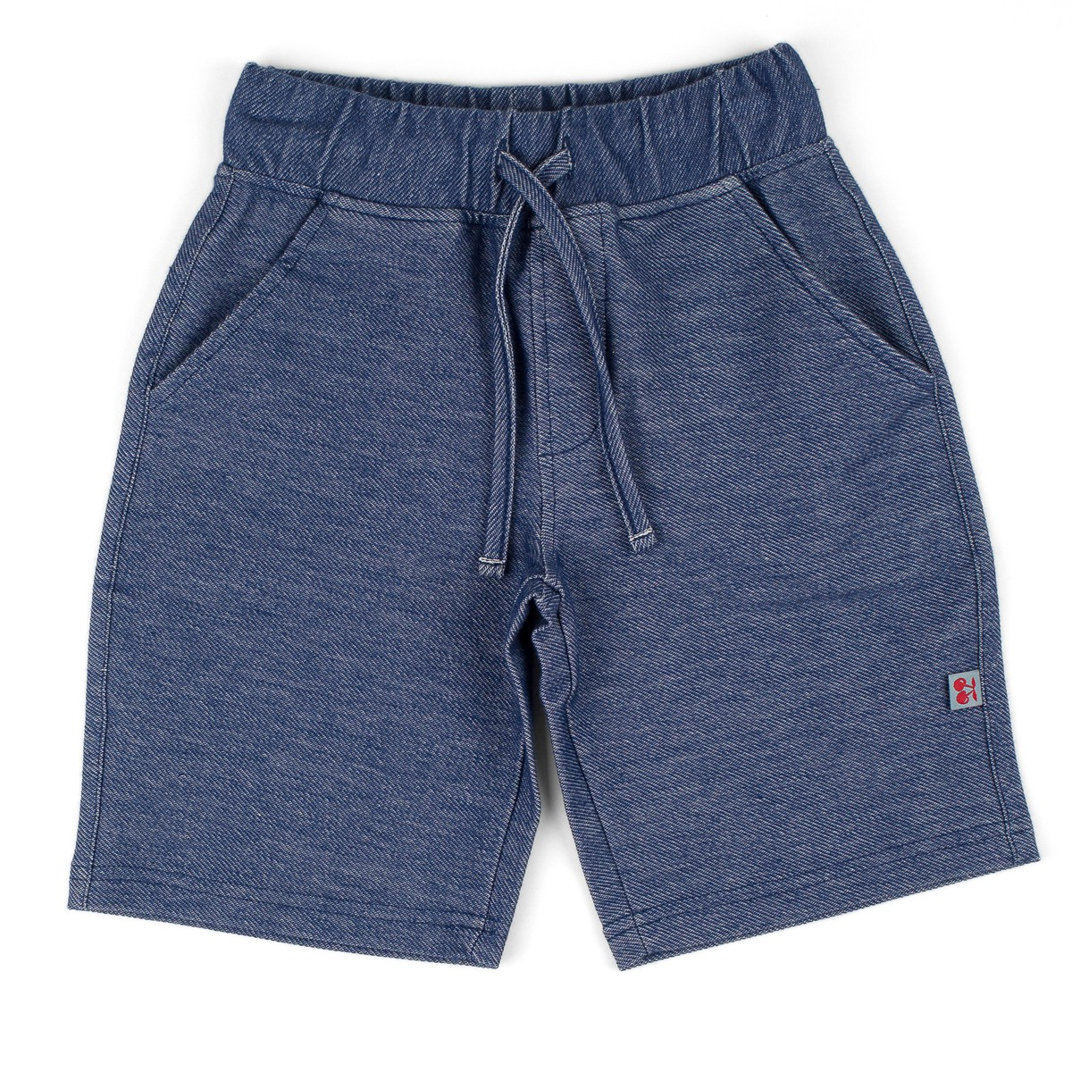 Short terry denim