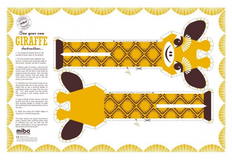 Sew Your own ... Giraf