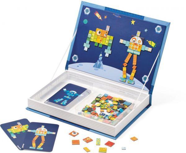 Magneetboek robot