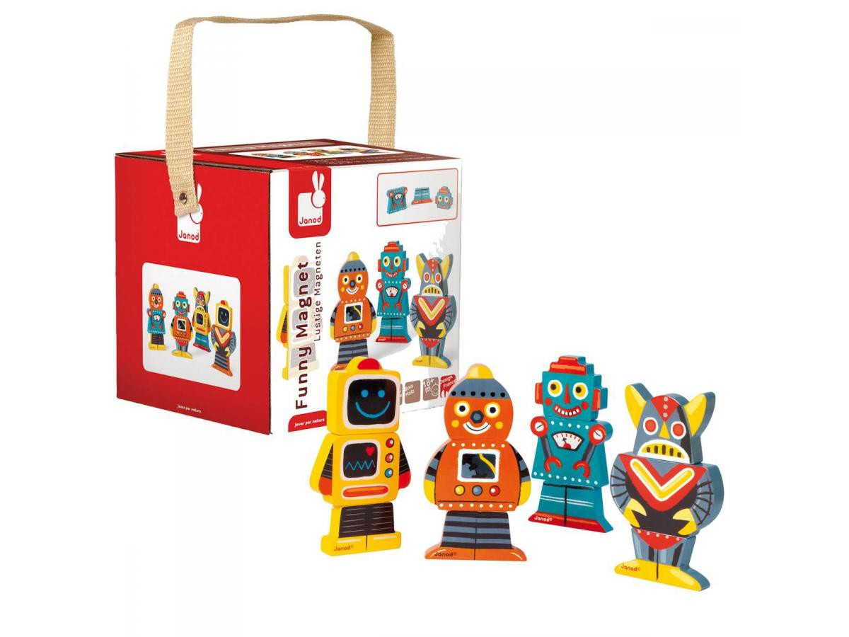 Fynny Magnets 'Robots'