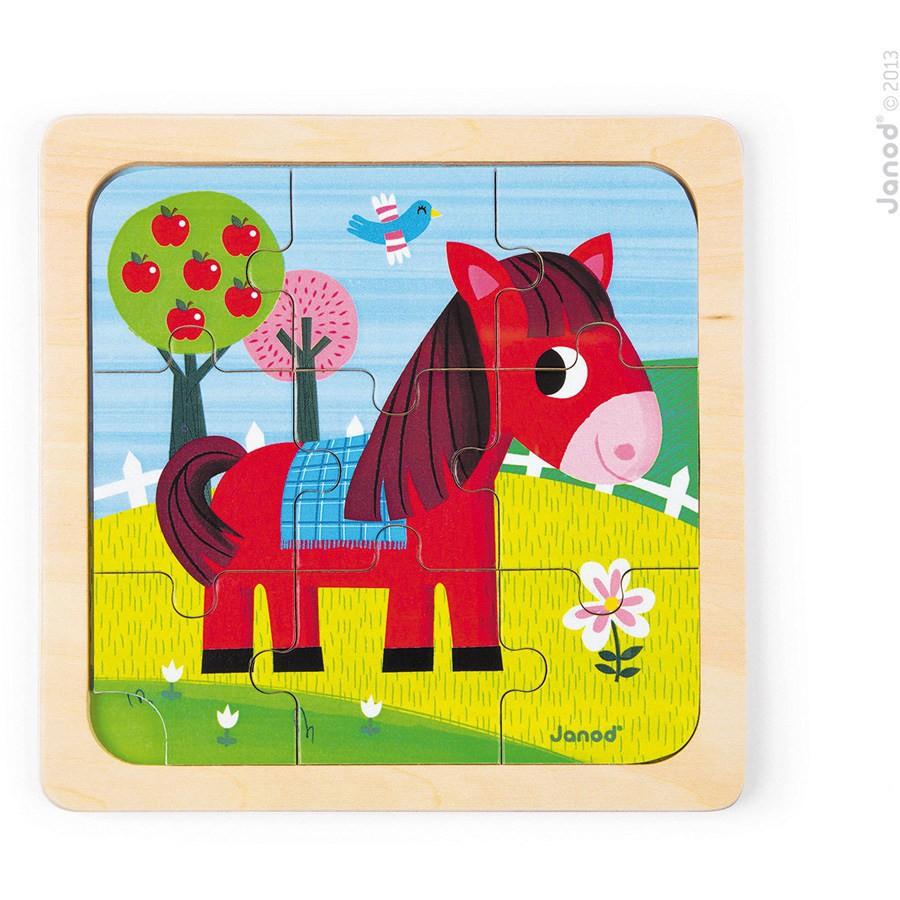 Babypuzzel paardje
