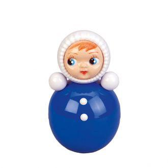 Blauwe 'Roly-Poly' pop mini