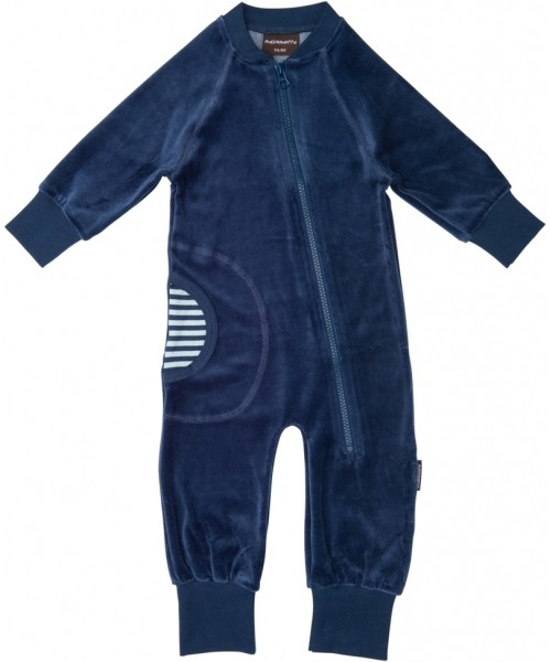 Blauw onesie