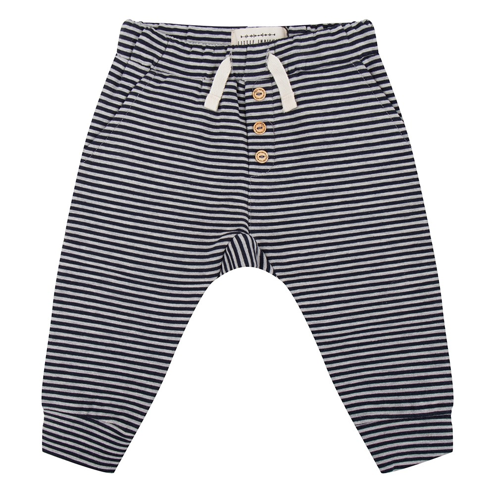 Pants gestreept