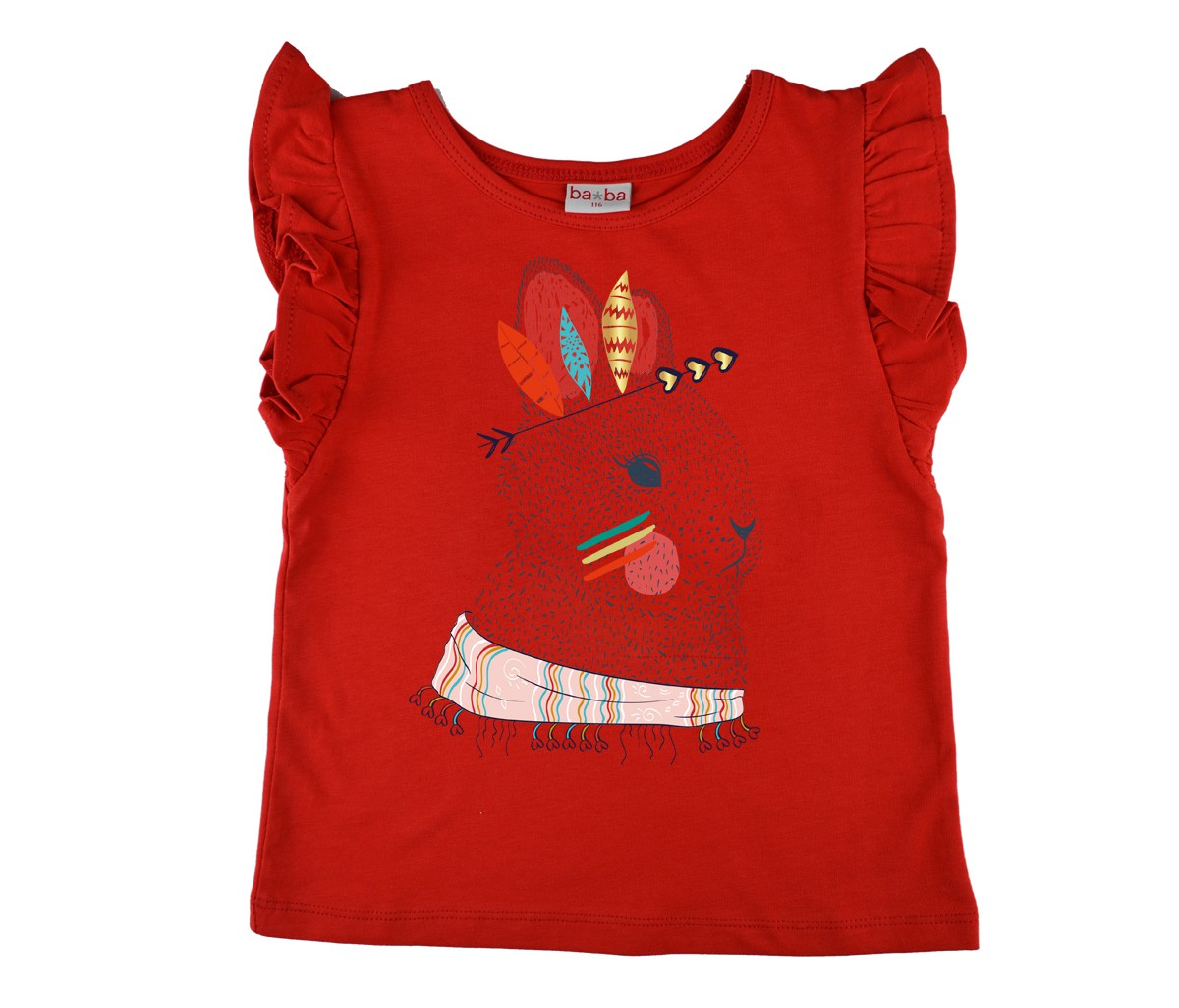 Ruffle Shirt konijn