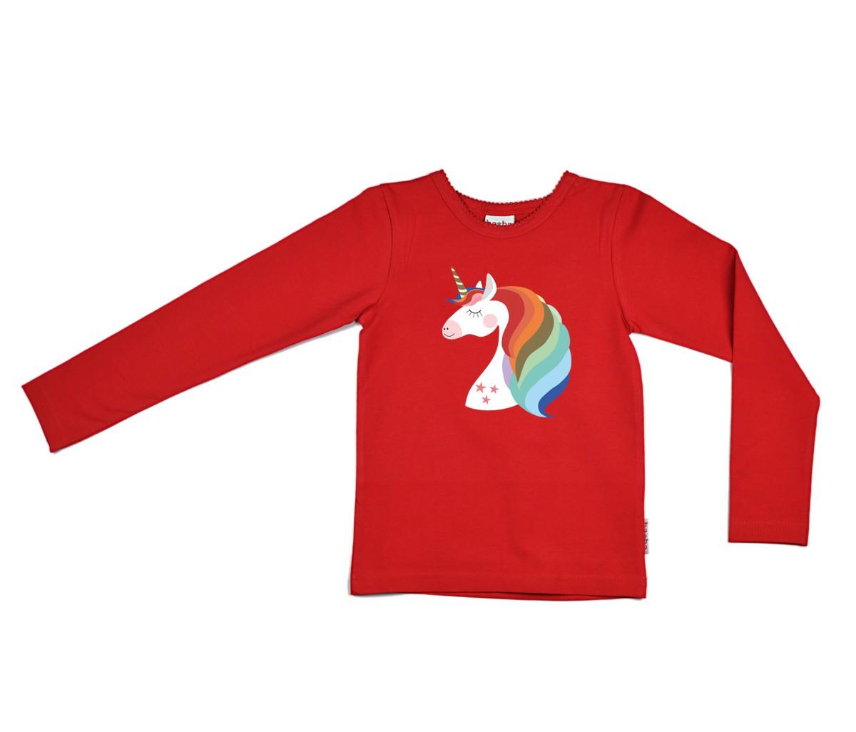 Rainbow unicorn longsleeve