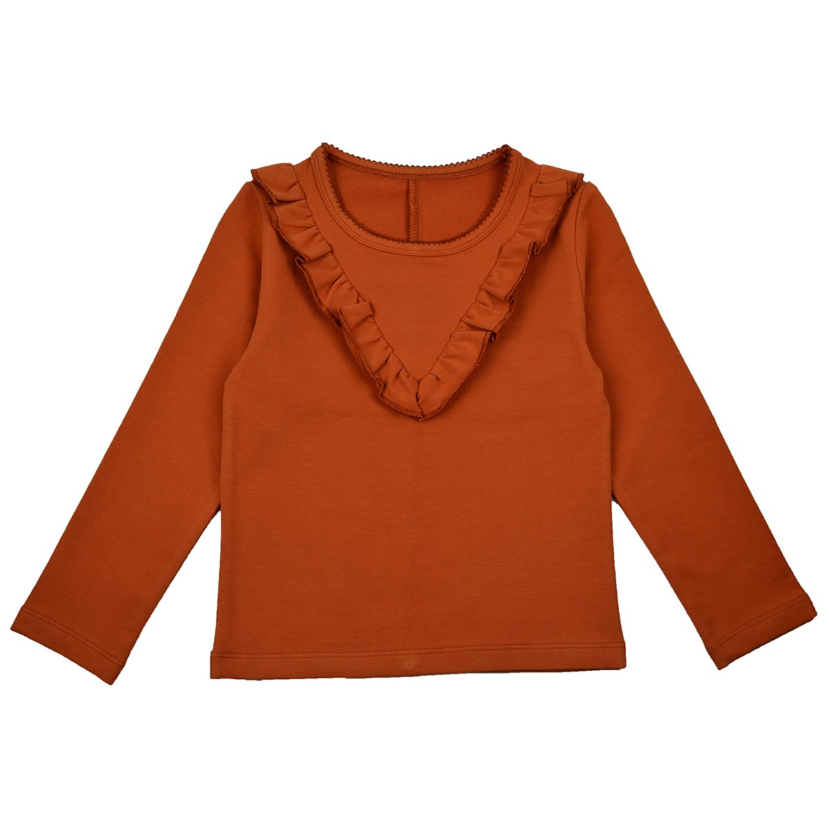 Ruffle blouse autumn
