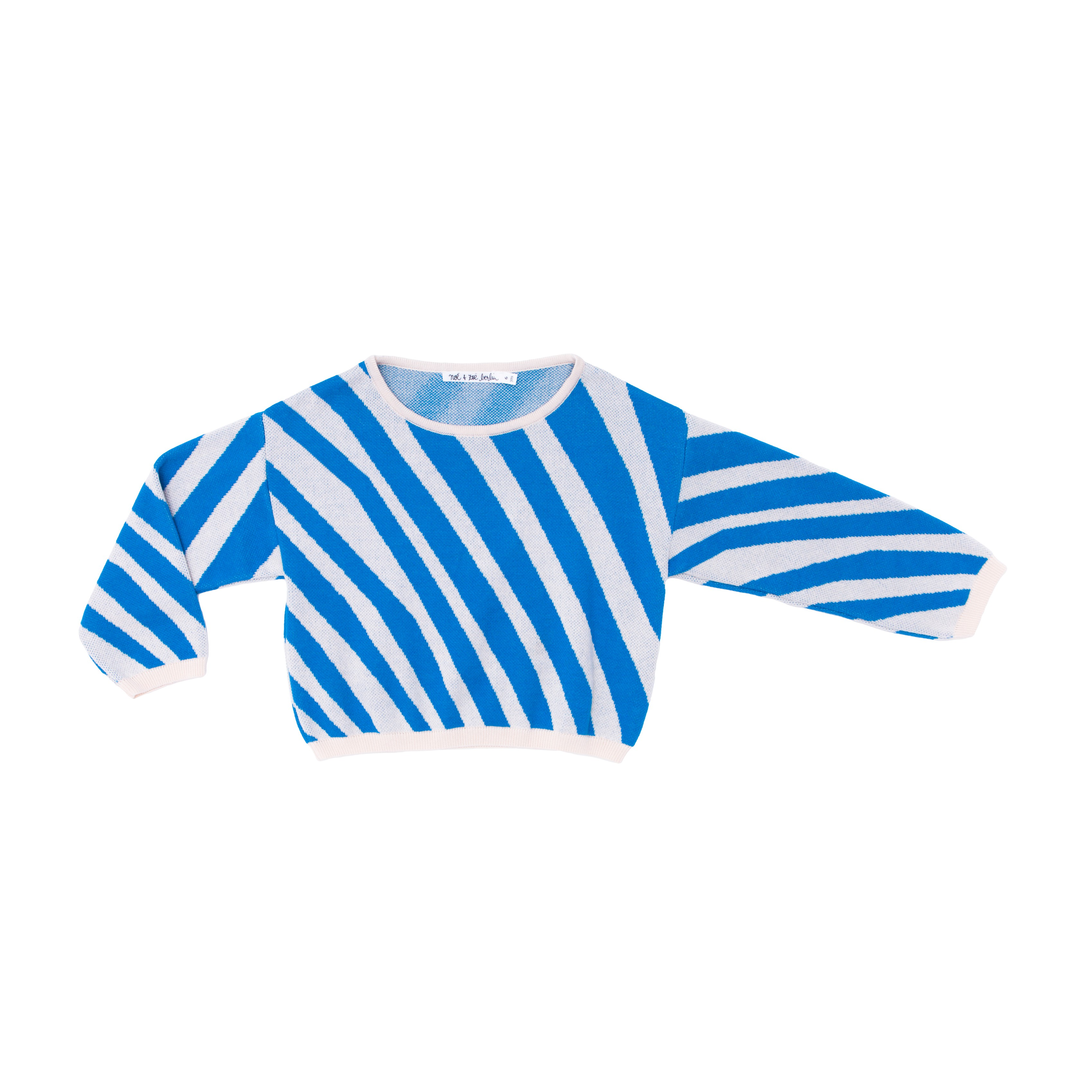 Knit sweater zebra
