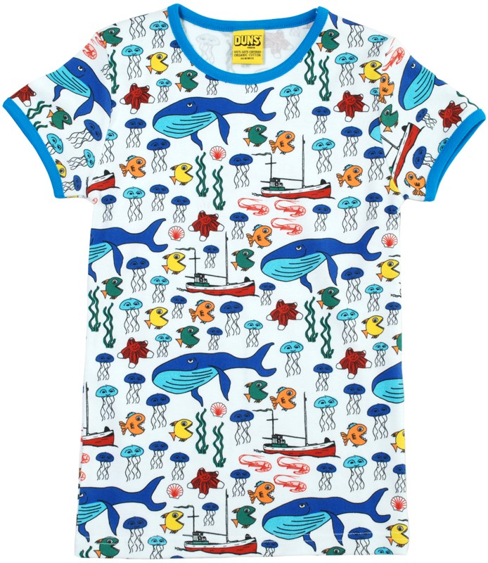 T-shirt korte mouwen Sea