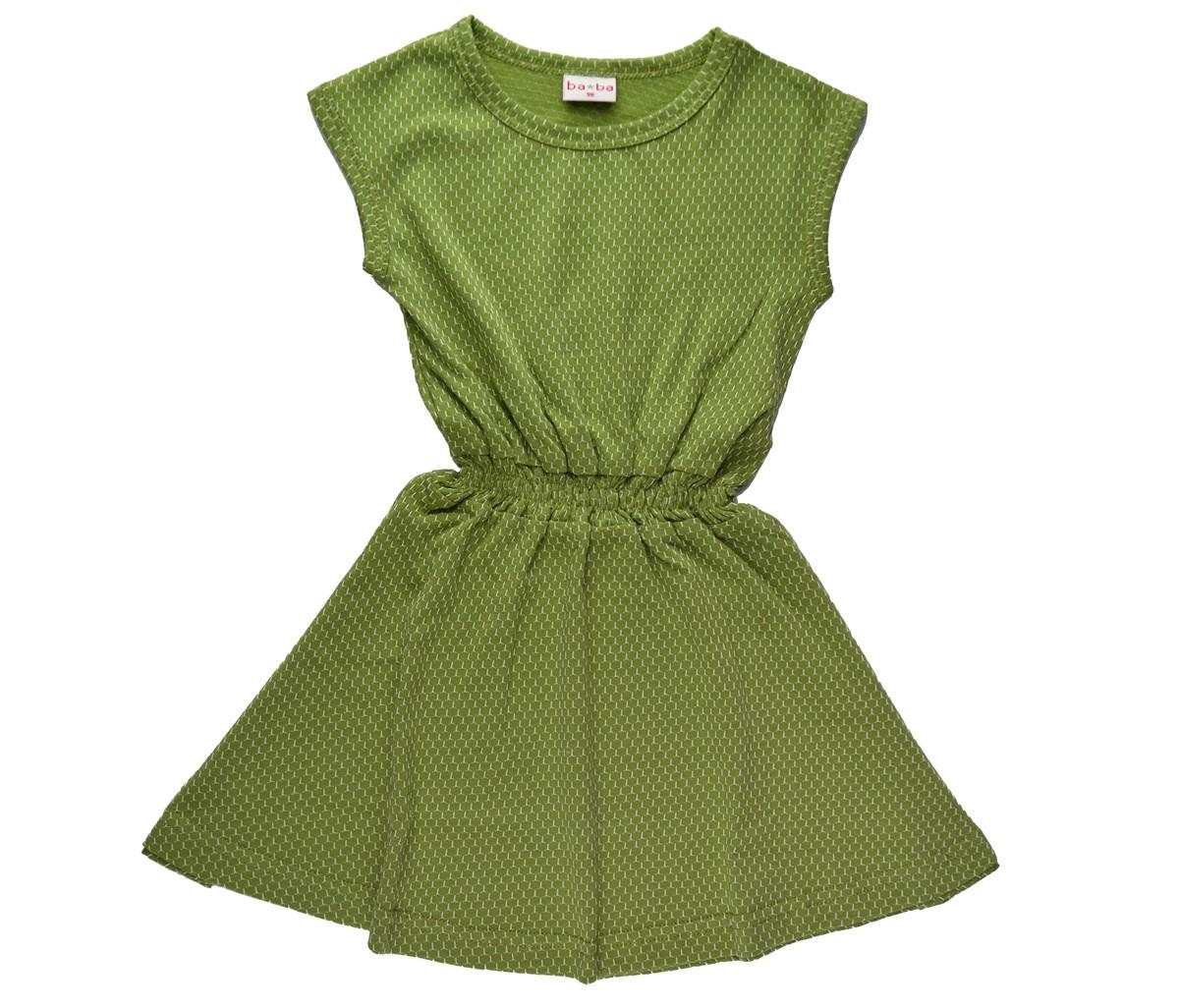 Smock dress jaquard