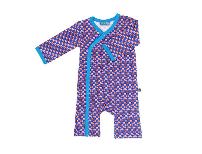 Jumpsuit 'artdeco' blauw