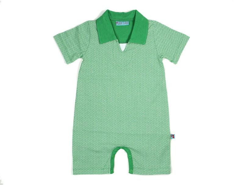 Combishort Polo groen