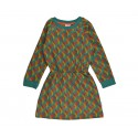 Sweater dress jaquard