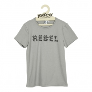 T-shirt Space rebel grey