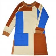 Clarisse dress Colorblock