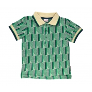 Polo green stripes