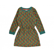 Sweater dress jaquard